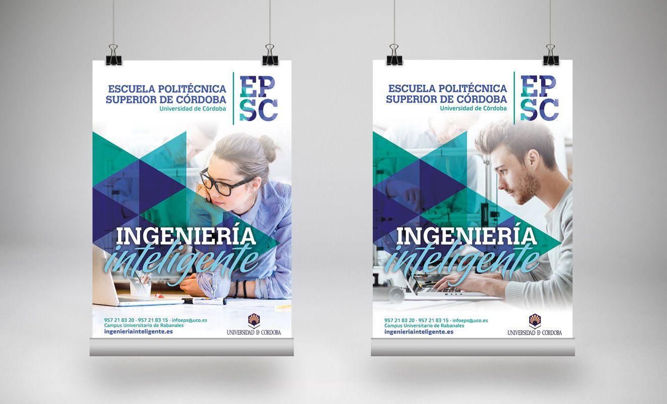 Cartelería Escuela Politécnica Superior de Córdoba