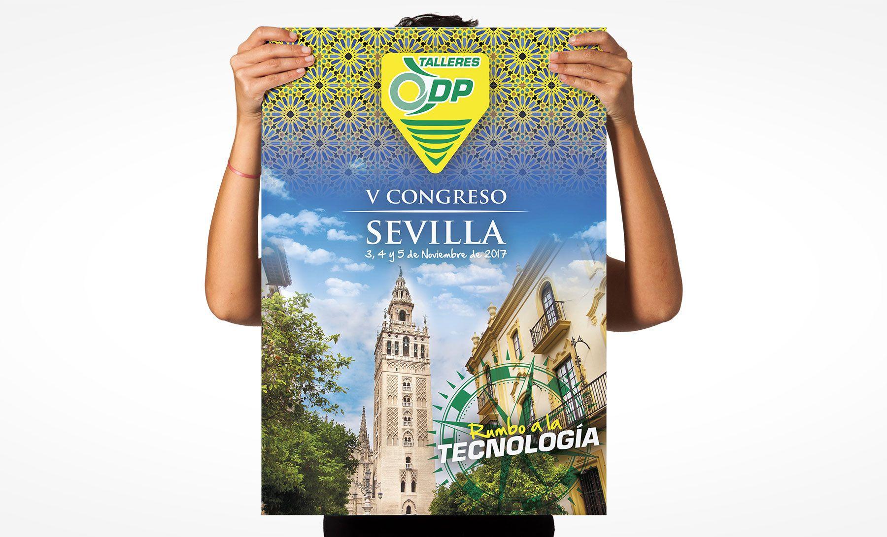 Poster V Congreso Talleres DP Sevilla