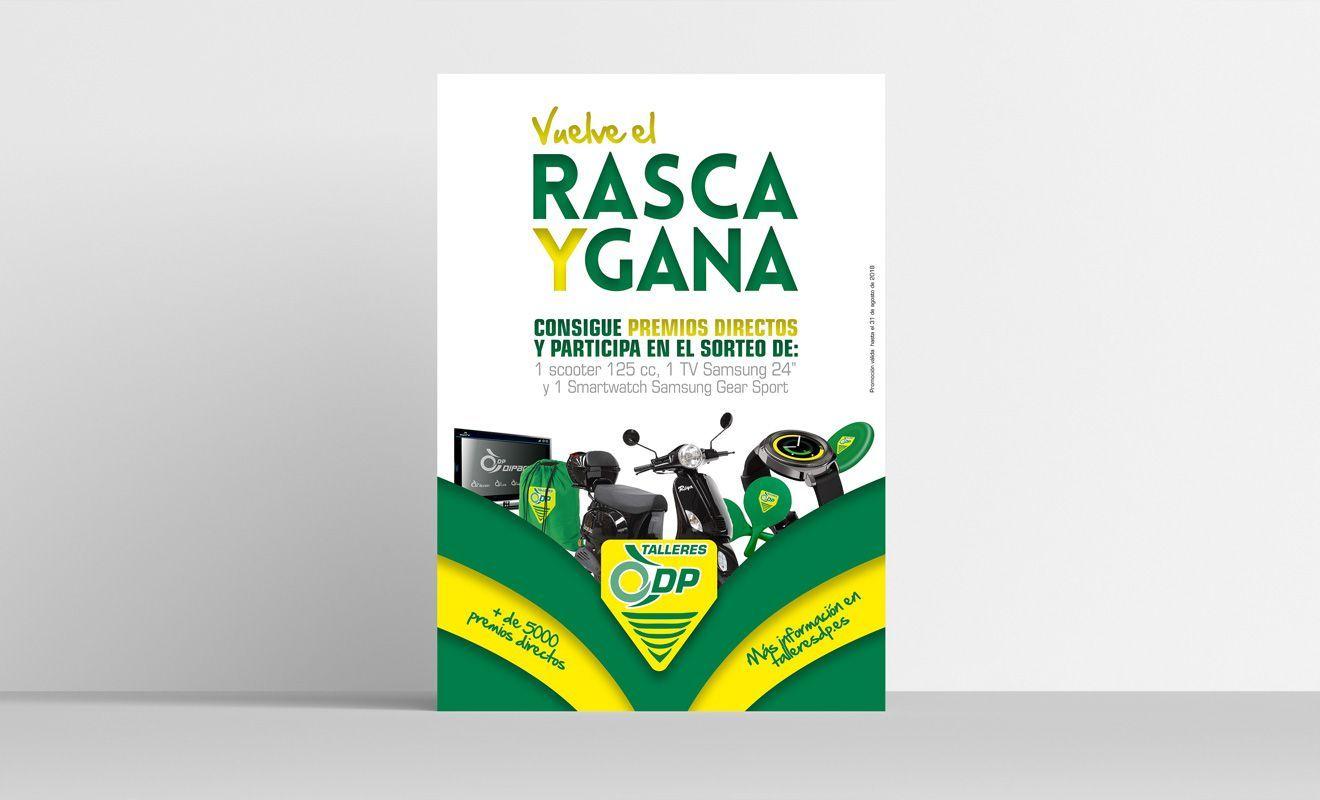 Diseño de Campaña Rasca y Gana de Dipart