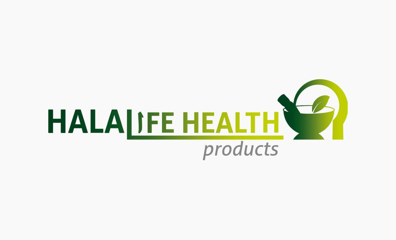 Logotipo Halalife Health Products