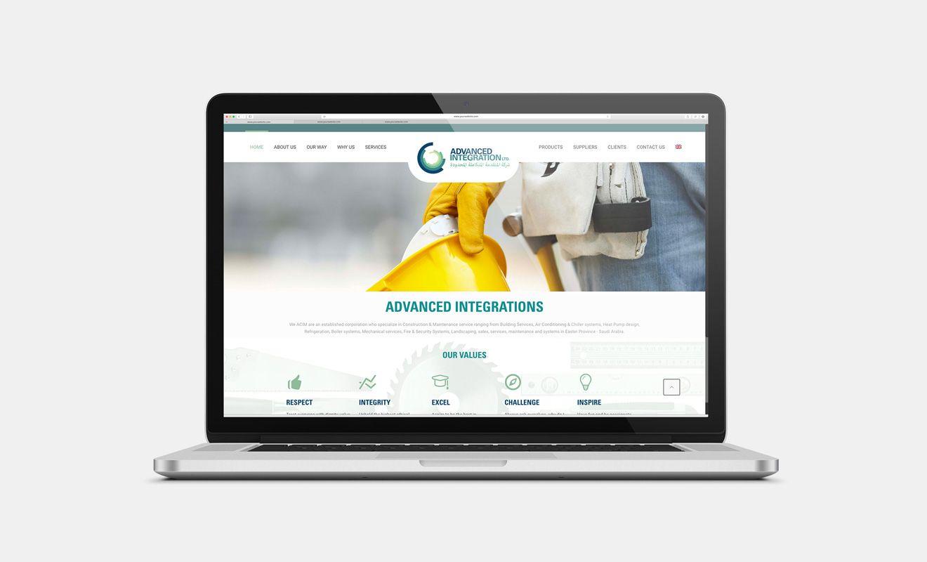 Diseño web Advanced Integrations