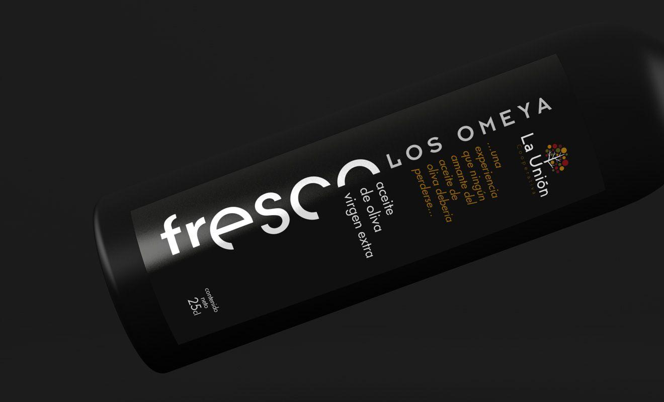 Etiqueta Aceite de Oliva Fresco Los Omeya