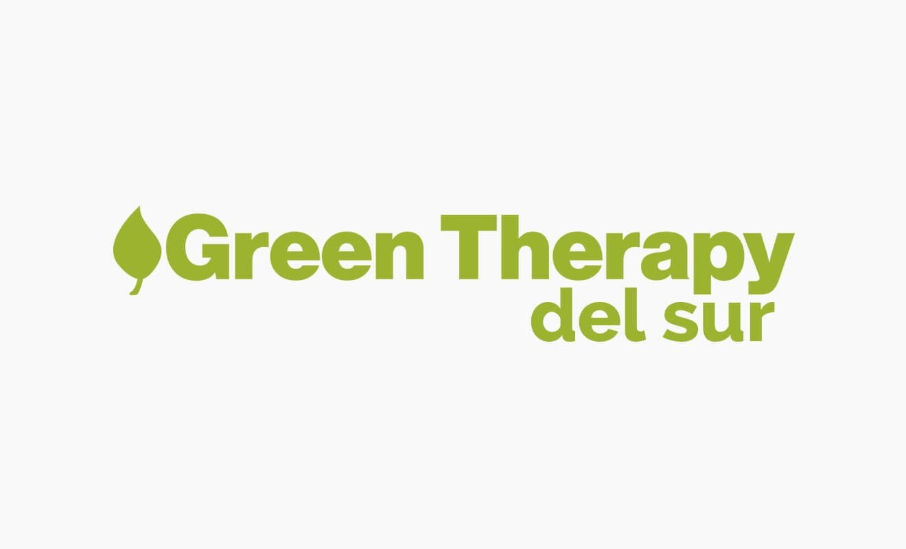 Logotipo Green Therapy del sur