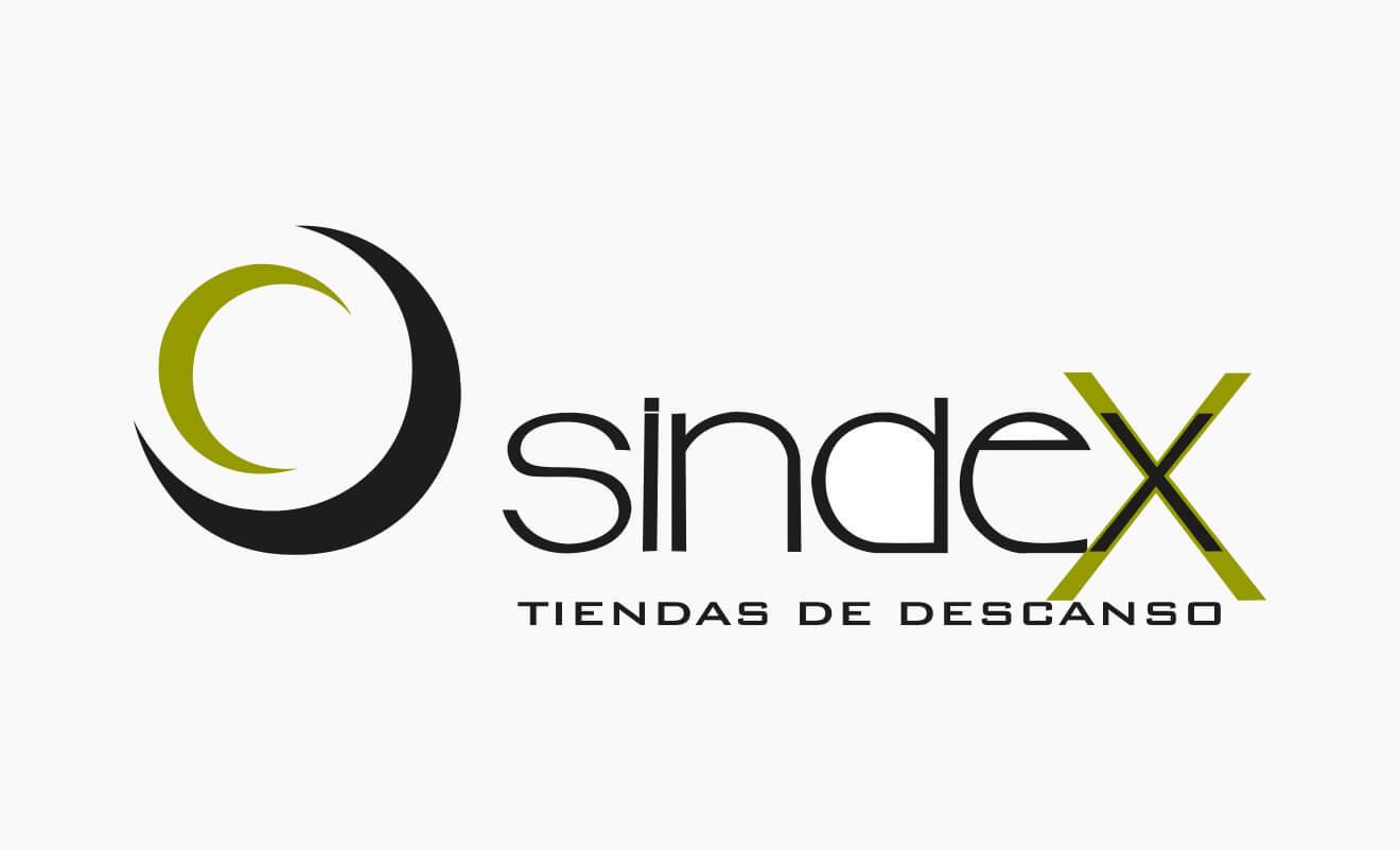 Logotipo Sindex Tiendas de Descanso
