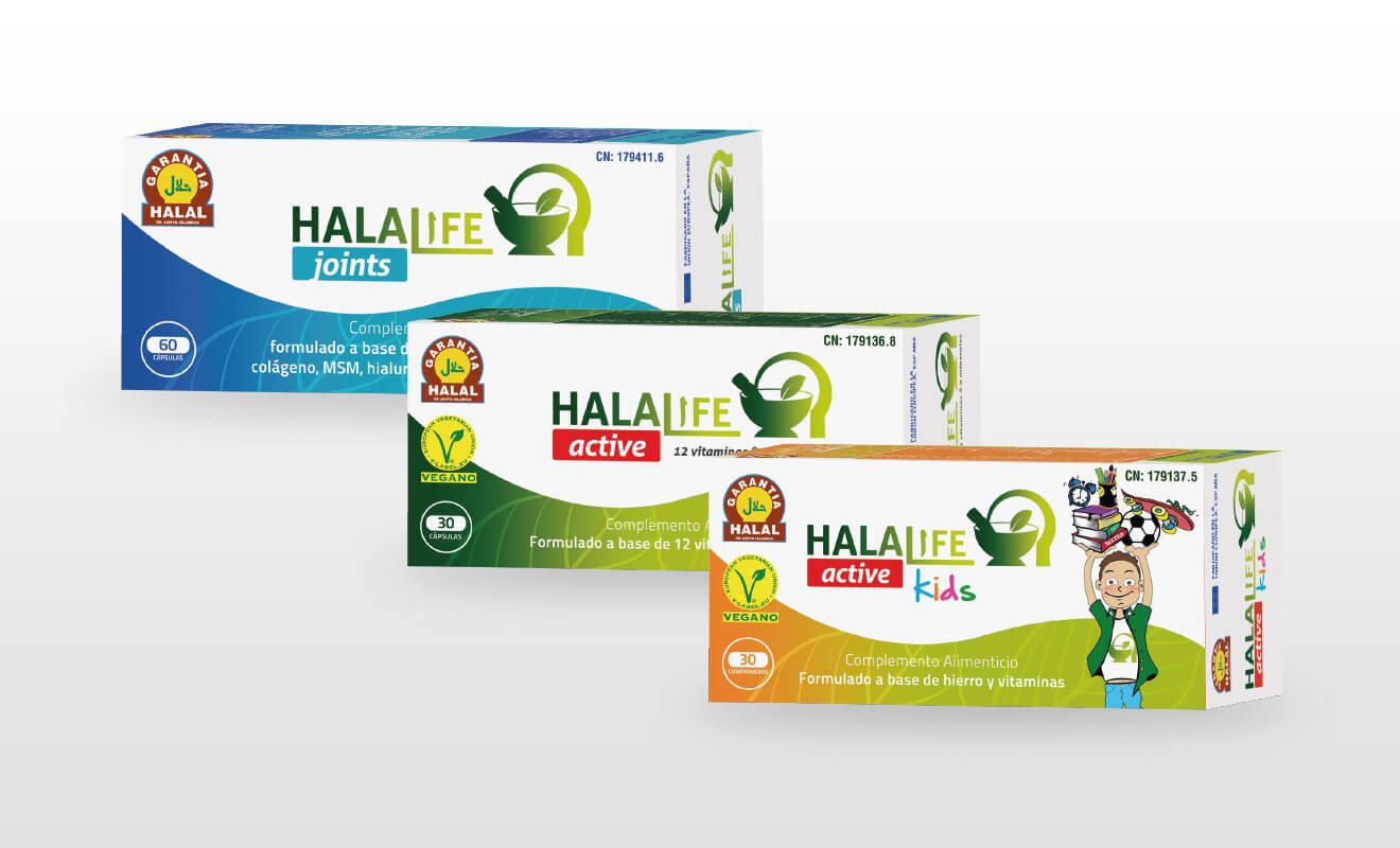 Diseño packaging Halalife
