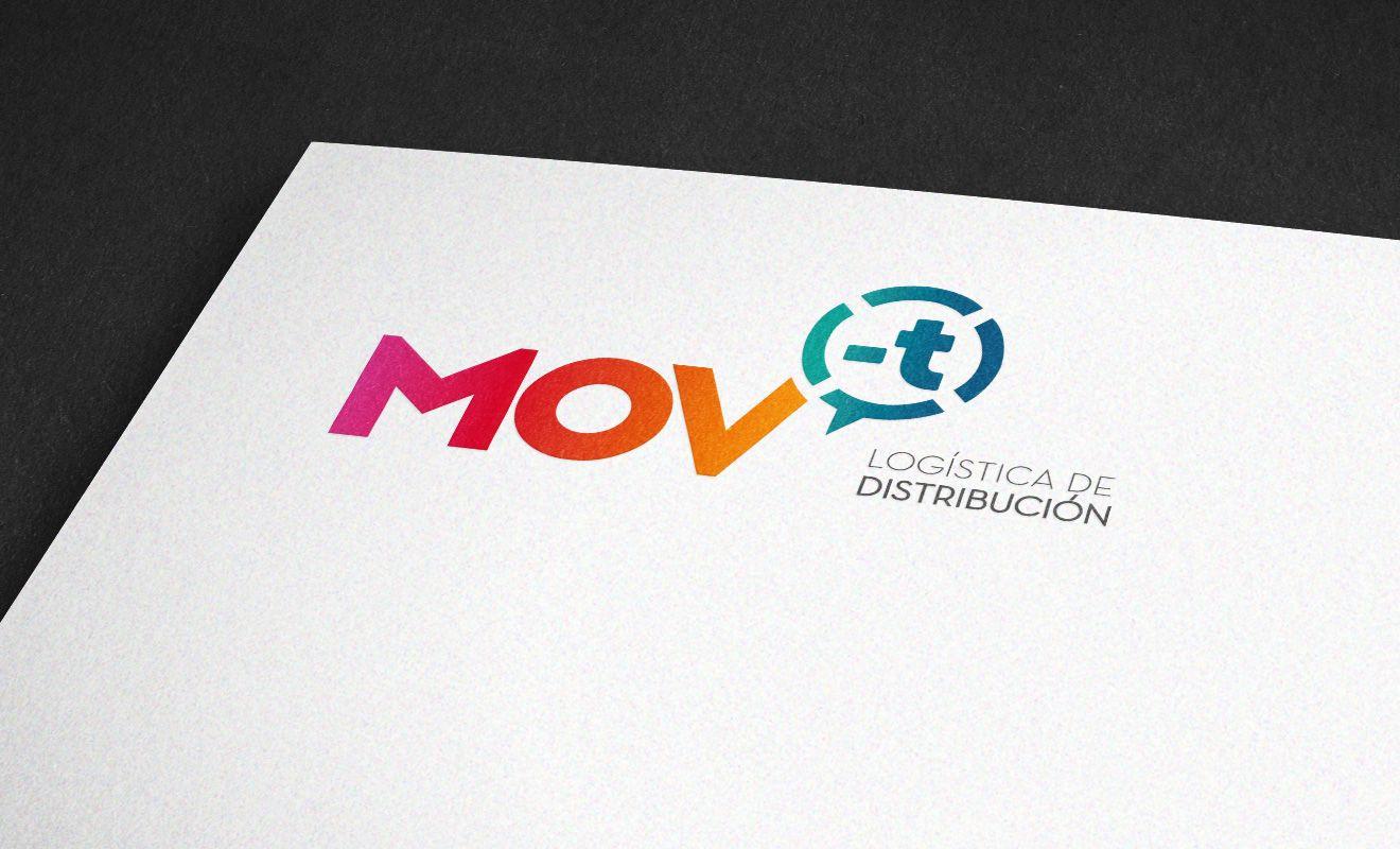 Logotipo MOV-T Logística de distribución