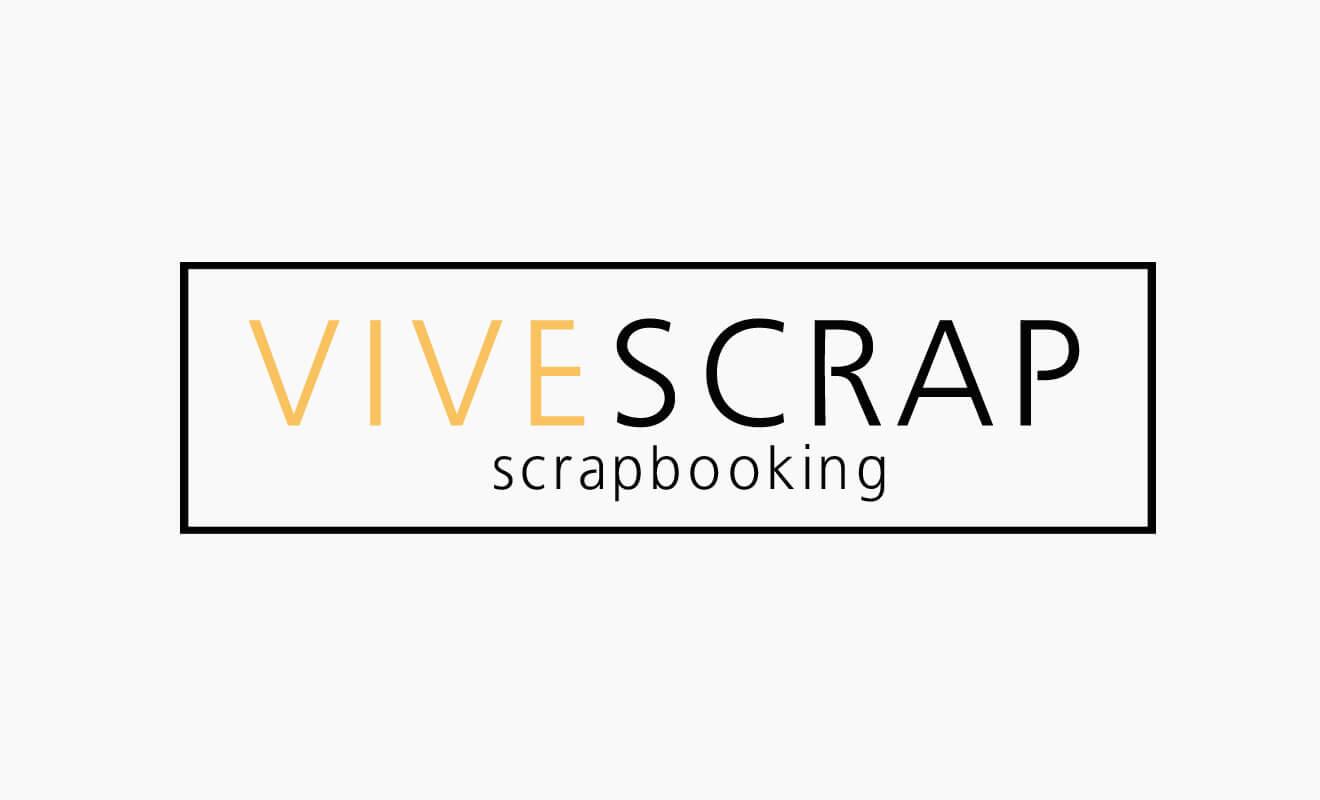 Logotipo Vivescrap Scrapbooking