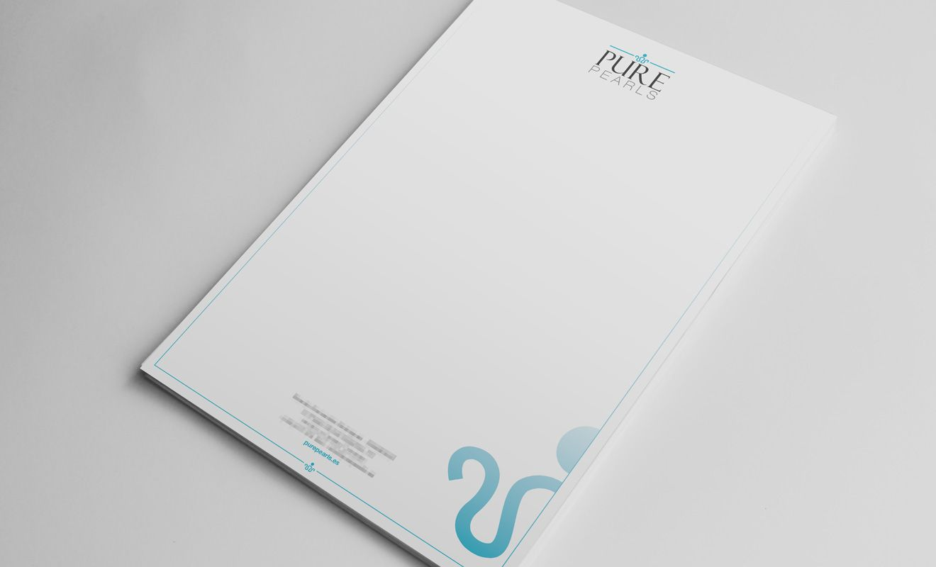 Folio corporativo Pure Pearls