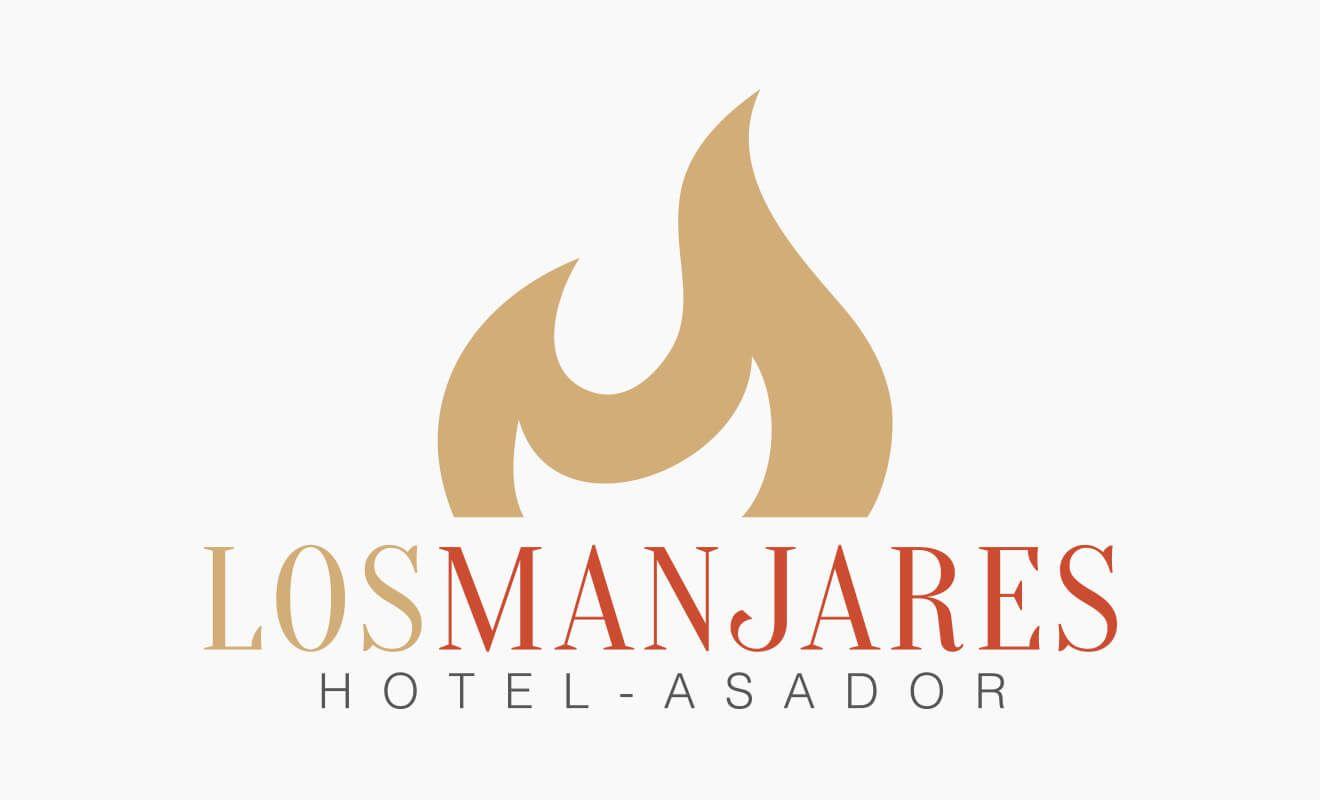 Logotipo Hotel Asador Los Manjares