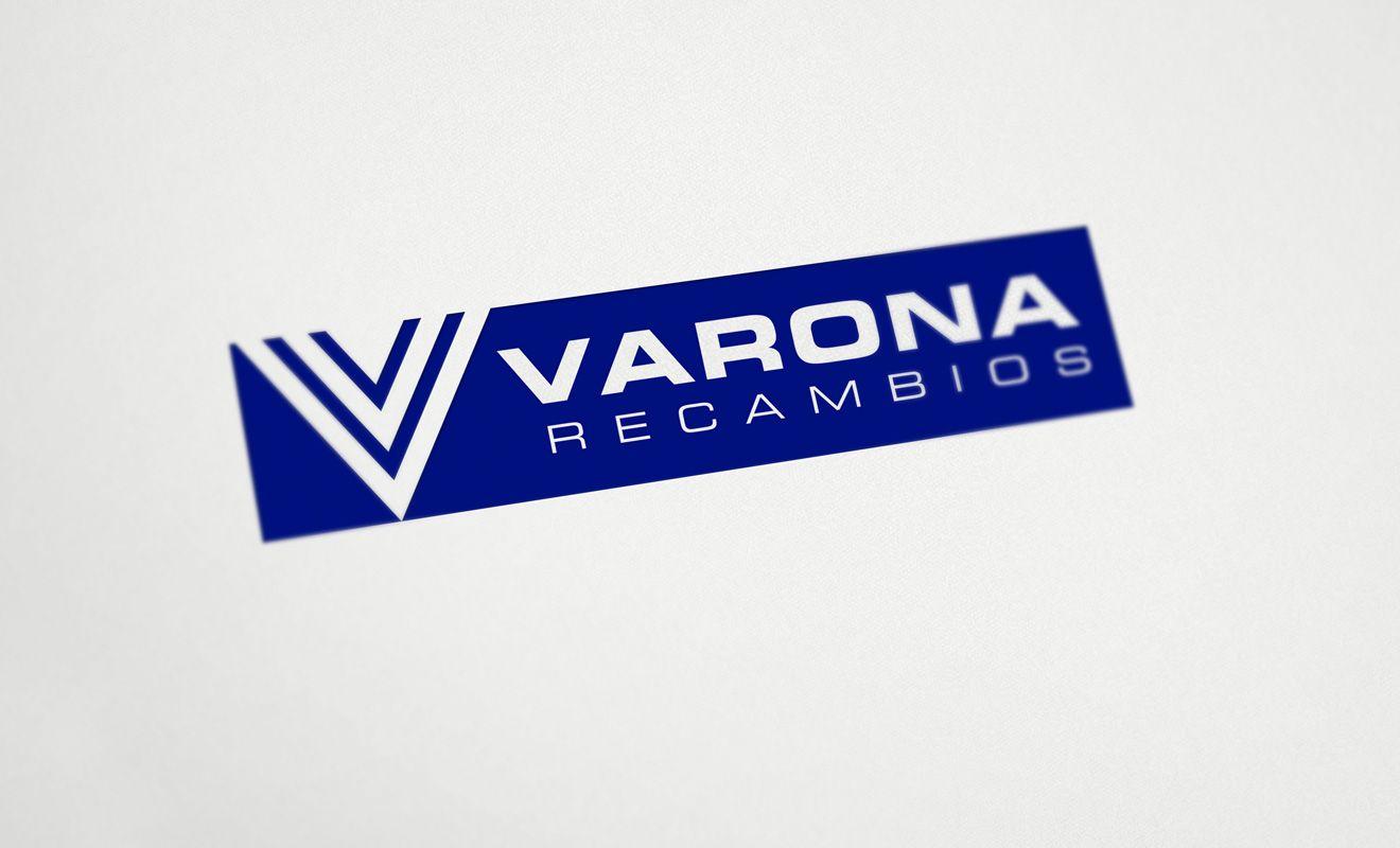 Logotipo Varona Recambios