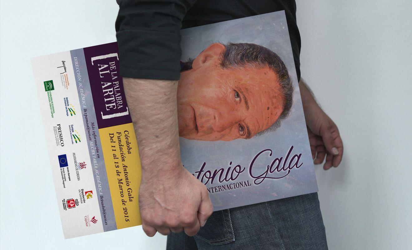 Cartel Congreso Antonio Gala