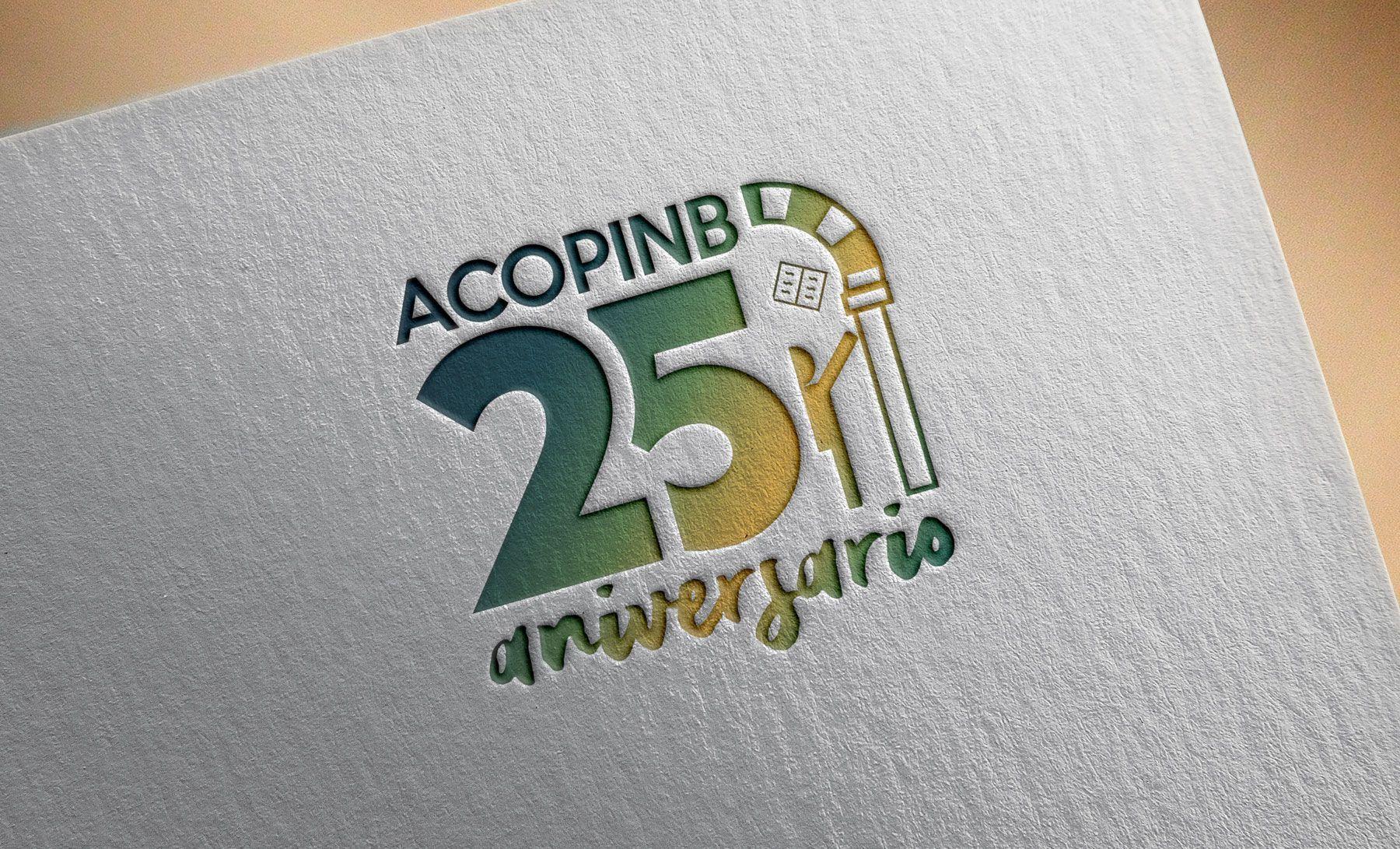 Logotipo 25º Aniversario Acopinb
