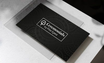 Tarjeta de Visita Ceremonials by Pilar Egea